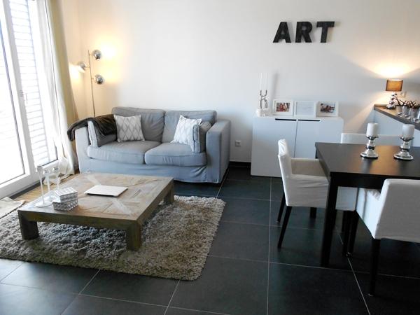 D co salon pour appartement exemples d 39 am nagements for Appartement 40m2 deco