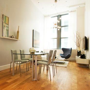 déco salon salle a manger petit espace - exemples d'aménagements - Decoration Salon Et Salle A Manger