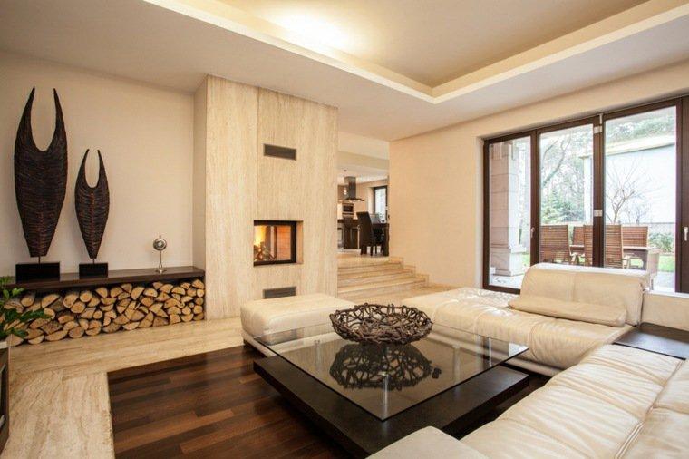 Déco salon style contemporain - Exemples d\'aménagements