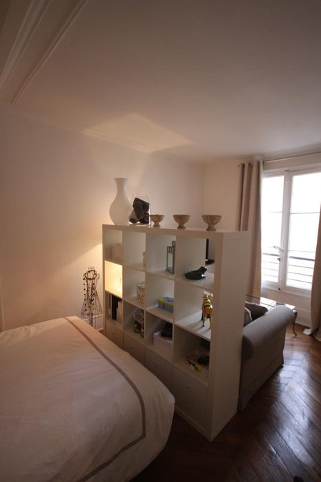D co studio chambre exemples d 39 am nagements for Amenager studio 25m2