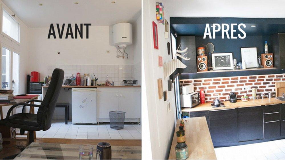 d co studio parisien exemples d 39 am nagements. Black Bedroom Furniture Sets. Home Design Ideas