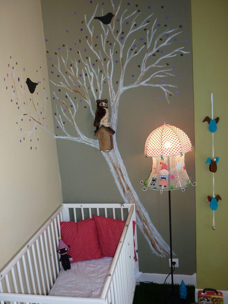 d co sympa chambre bebe exemples d 39 am nagements. Black Bedroom Furniture Sets. Home Design Ideas