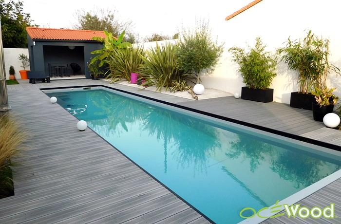 D co terrasse de piscine exemples d 39 am nagements - Habillage tour de piscine ...
