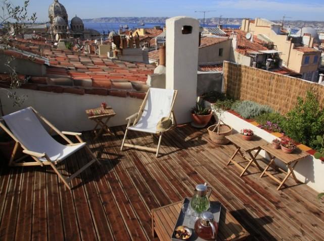 D co terrasse en ville exemples d 39 am nagements for Terrasse en ville