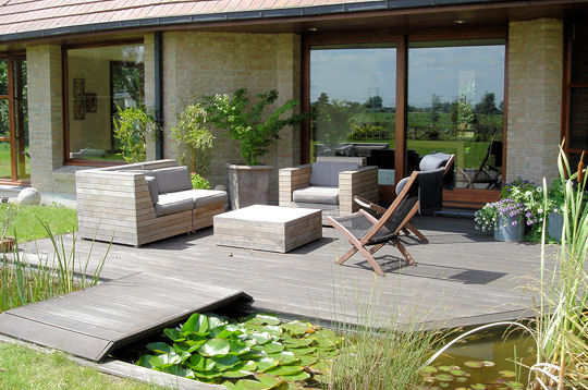 D co terrasse et jardin exemples d 39 am nagements for Idee terrasse originale