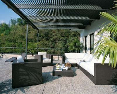 d co terrasse plein sud exemples d 39 am nagements. Black Bedroom Furniture Sets. Home Design Ideas