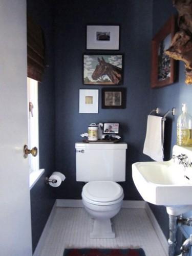d co toilettes bleu exemples d 39 am nagements. Black Bedroom Furniture Sets. Home Design Ideas