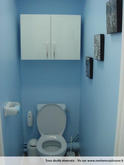 Deco wc bleu - Deco toilettes taupe ...