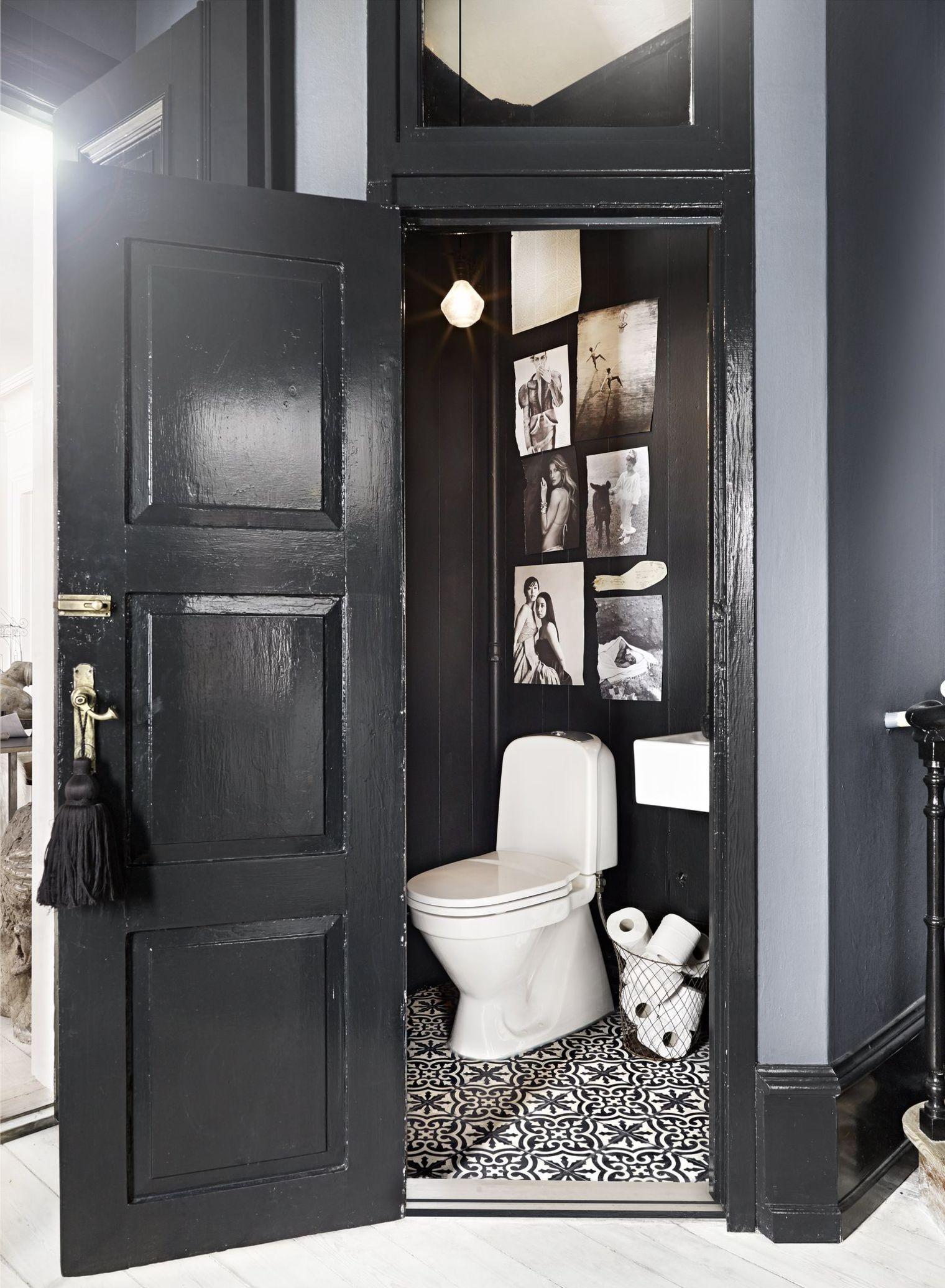 d co toilettes noir exemples d 39 am nagements. Black Bedroom Furniture Sets. Home Design Ideas