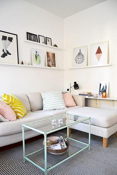 ide dco un petit salon - Idee Deco Salon Petite Surface