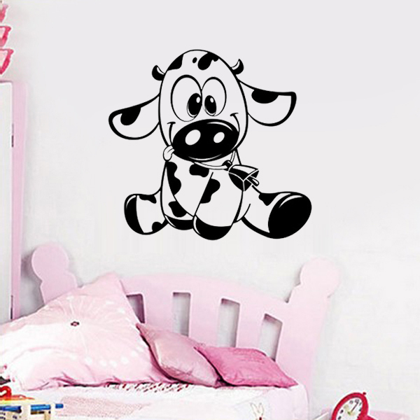 deco chambre vache. Black Bedroom Furniture Sets. Home Design Ideas