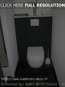 Déco wc contemporain - Exemples d\'aménagements
