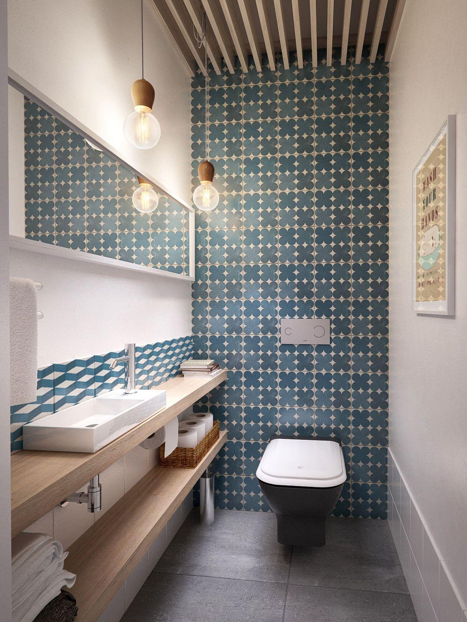 Déco wc en longueur - Exemples d\'aménagements