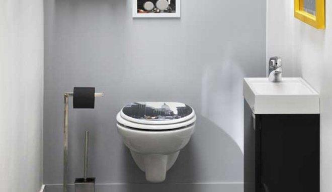 d co wc leroy merlin exemples d 39 am nagements. Black Bedroom Furniture Sets. Home Design Ideas