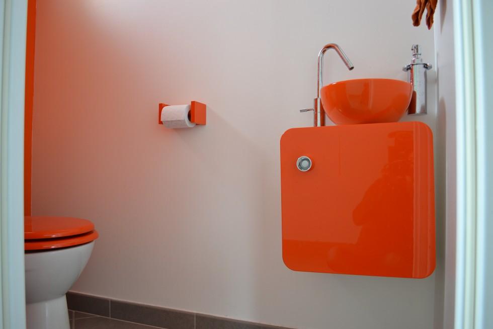 D Co Wc Orange Exemples D 39 Am Nagements