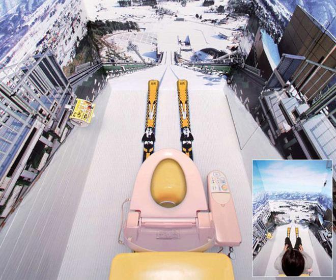 Déco wc ski - Exemples daménagements