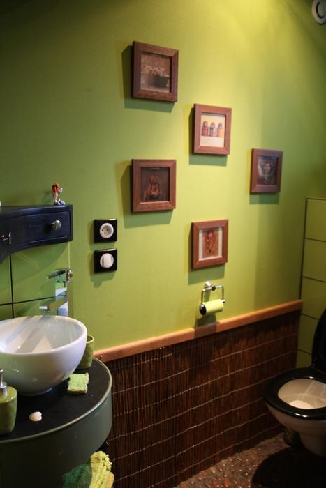 d co wc vert exemples d 39 am nagements. Black Bedroom Furniture Sets. Home Design Ideas