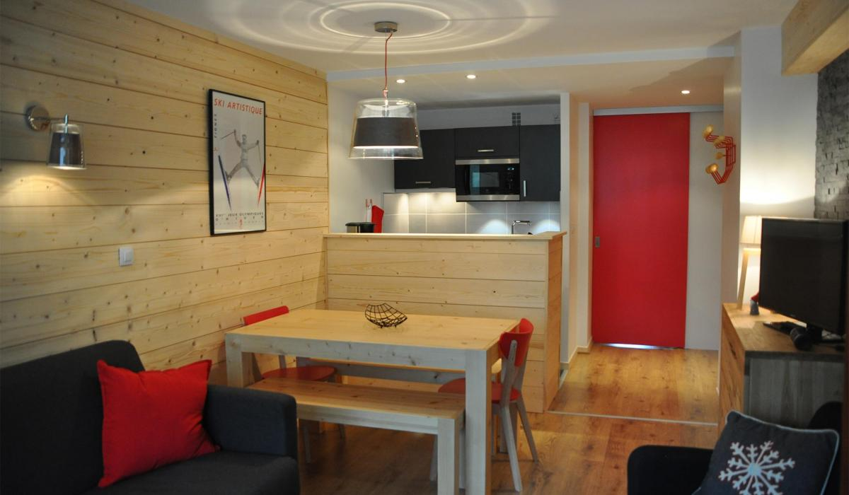 D coration appartement a la montagne exemples d 39 am nagements - Idee deco interieur appartement ...