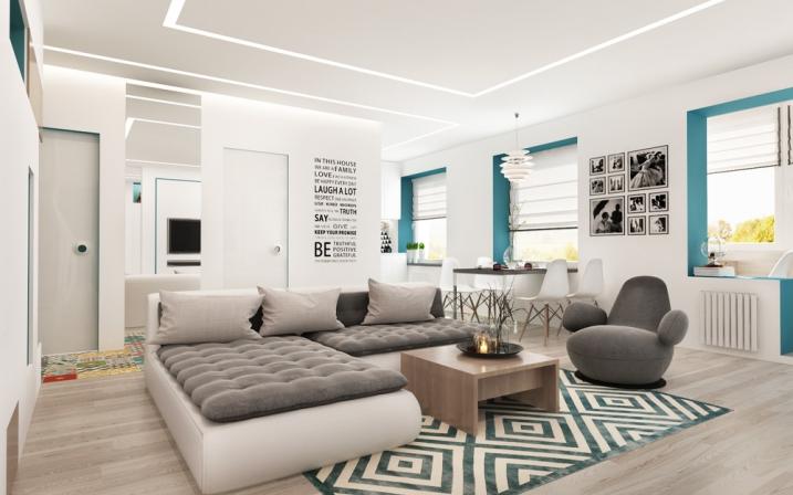 aménagement appartement de 50m2