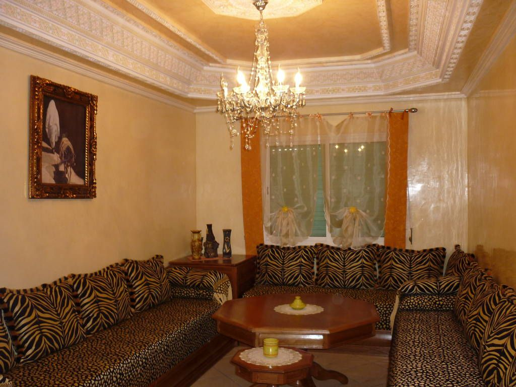 D coration appartement economique maroc exemples d for Appartement decoration