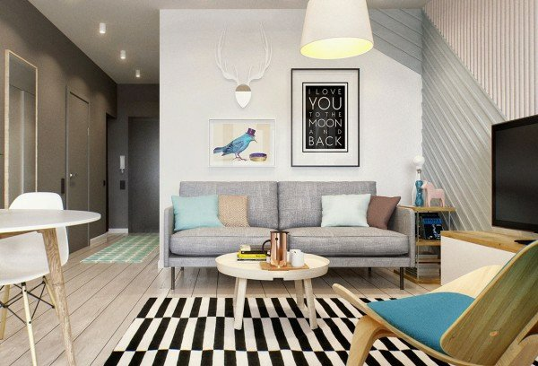 Décoration appartement jeune couple - Exemples d\'aménagements