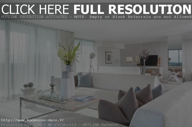 modèle décoration appartement mer
