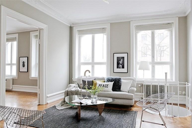 D coration appartement style exemples d 39 am nagements for Style deco salon appartement