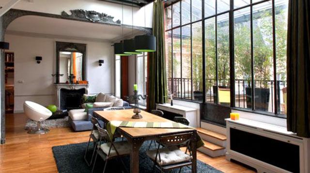 D co appartement loft for Appartement deco contemporain