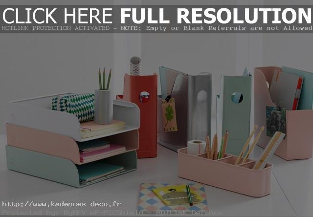 Idée décoration bureau accessoires