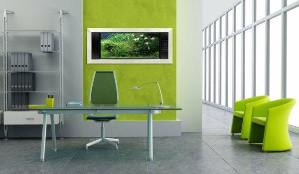 Décoration bureau contemporain - Exemples d\'aménagements