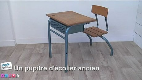 D coration bureau ecolier exemples d 39 am nagements for Bureau ecolier ancien 1 place