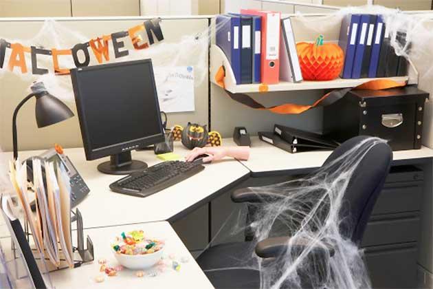 Décoration bureau halloween - Exemples d'aménagements
