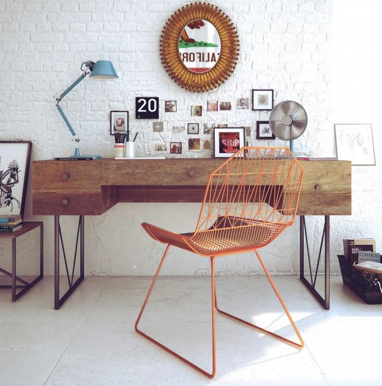 Decoration Bureau Vintage : Décoration bureau vintage exemples d aménagements