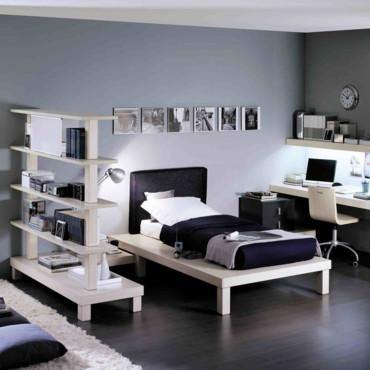 Décoration chambre ado garcon - Exemples d\'aménagements
