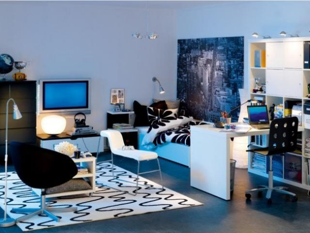 d coration chambre adolescent garcon exemples d 39 am nagements. Black Bedroom Furniture Sets. Home Design Ideas