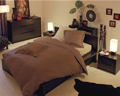 Décoration chambre ambiance africaine - Exemples d\'aménagements