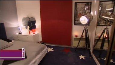 d coration chambre americaine exemples d 39 am nagements. Black Bedroom Furniture Sets. Home Design Ideas