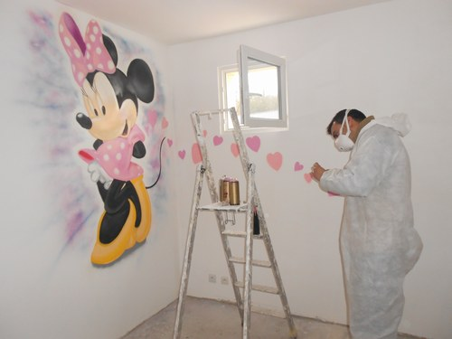 D coration chambre bebe minnie - Decoration mickey chambre ...