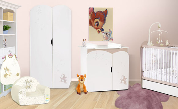 deco chambre bebe fille disney. Black Bedroom Furniture Sets. Home Design Ideas