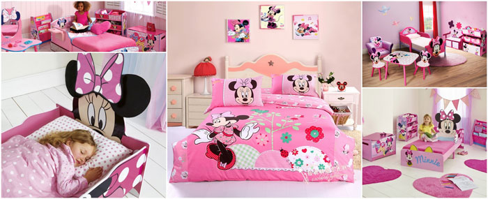 d coration chambre bebe minnie exemples d 39 am nagements. Black Bedroom Furniture Sets. Home Design Ideas