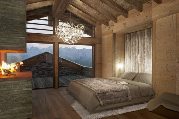Decoration Chambre Bois Montagne Exemples D Amenagements