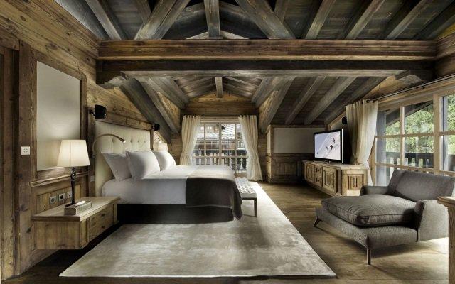 Decoration Chambre Bois Montagne Exemples D Amenagements