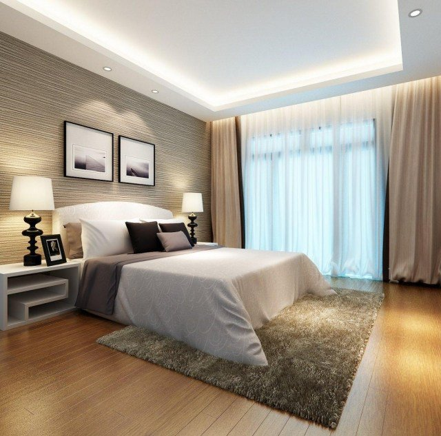 Best deco chambre contemporaine images for Chambre contemporaine