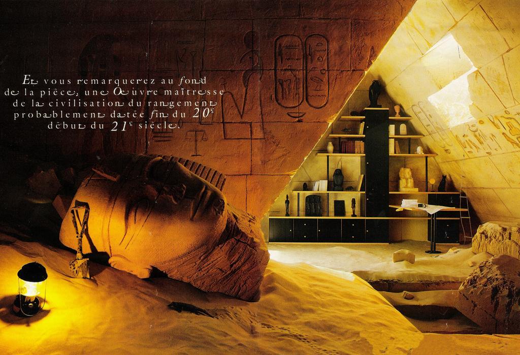 Décoration chambre egyptienne  Exemples d'aménagements