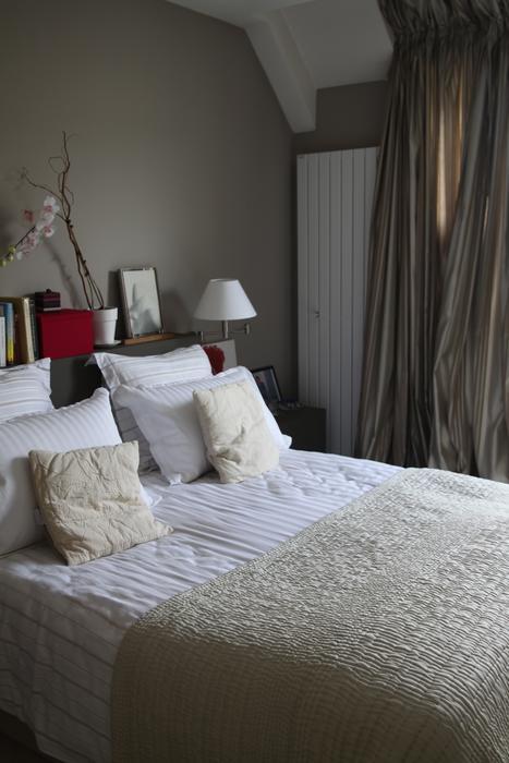 Décoration chambre en beige - Exemples d\'aménagements
