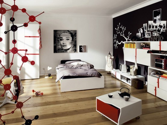 D coration chambre fille 15 ans exemples d 39 am nagements for Jugendliche schlafzimmer