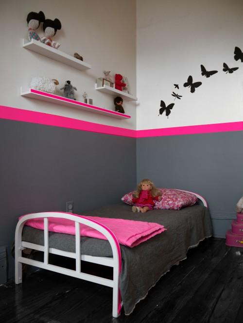 d coration chambre fluo exemples d 39 am nagements. Black Bedroom Furniture Sets. Home Design Ideas