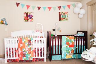 Beautiful Comment Decorer La Chambre De Ses Bebes Jumelles Images ...