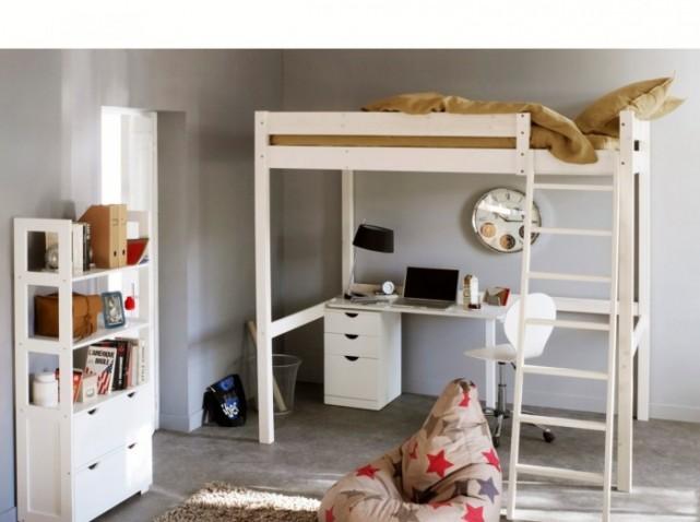 d coration chambre lit mezzanine exemples d 39 am nagements. Black Bedroom Furniture Sets. Home Design Ideas