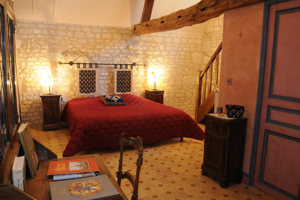 D co chambre medieval for Salon medieval